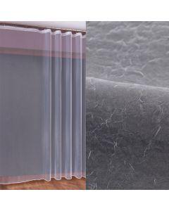 002271/OLO/001/270000/1 Woal kreszowany kolor biały z ołowianką