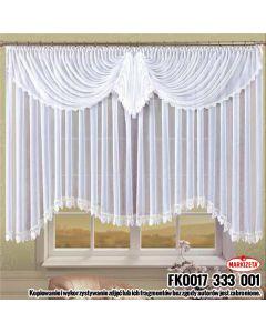 FK0017/333/001/160400/1 Firanka konf.biała