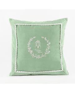 RONI00/KSP/055/040040/1 Poszewka RONI kolor zielony