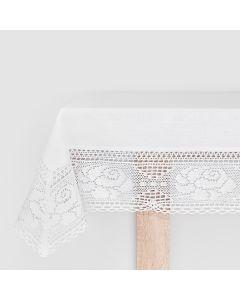 ROSA00/KSM/001/140260/1 Obrus ROSA kolor biały