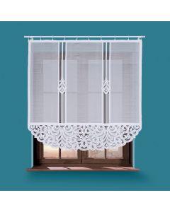 ZURIEL/000/001/150150/1 Panel biały żakardowy konfekcjonowany ZURIEL 150x150cm
