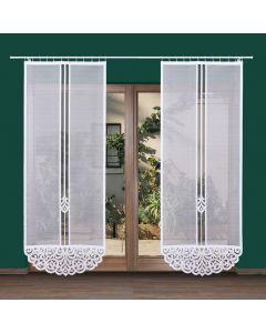 ZURIEL/000/001/230090/1 Panel żakardowy konfekcjonowany ZURIEL 230x90cm